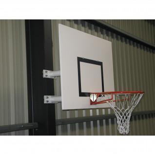Wandmontierter Basketballkorb mit fester Höhe Halbmond Sporti France