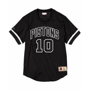 T-shirt Detroit Pistons black & white Dennis Rodman
