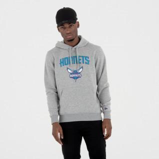 Sweat   capuche New Era  avec logo de l'équipe Charlotte Hornets