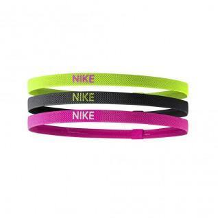Satz mit 3 elastischen Stirnbändern Nike