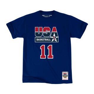 T-shirt USA name & number Karl Malone
