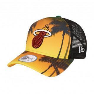 Kappe New Era NBA Miami Heat trucker summer city
