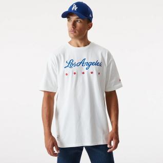 T-shirt New era Los Angeles Dodgers heritage oversize