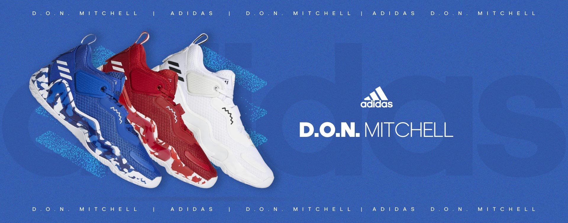 Basketballschuhe adidas D.O.N. Mitchell